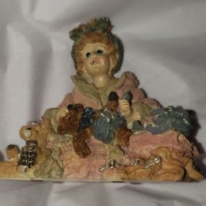 BOYDS BEAR DOLLSTONE COLLECTION RESIN I WANNA BE